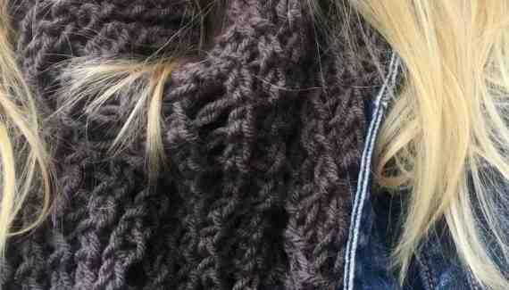 sweet november knit shawl