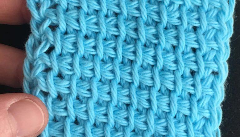 Free Tunisian Pattern - Learn Tunisian Simple Stitch