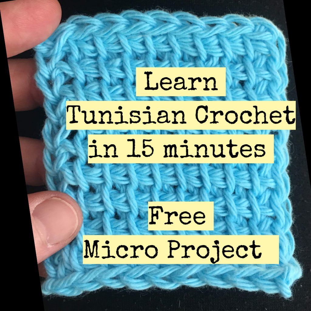 Free Tunisian Crochet Pattern