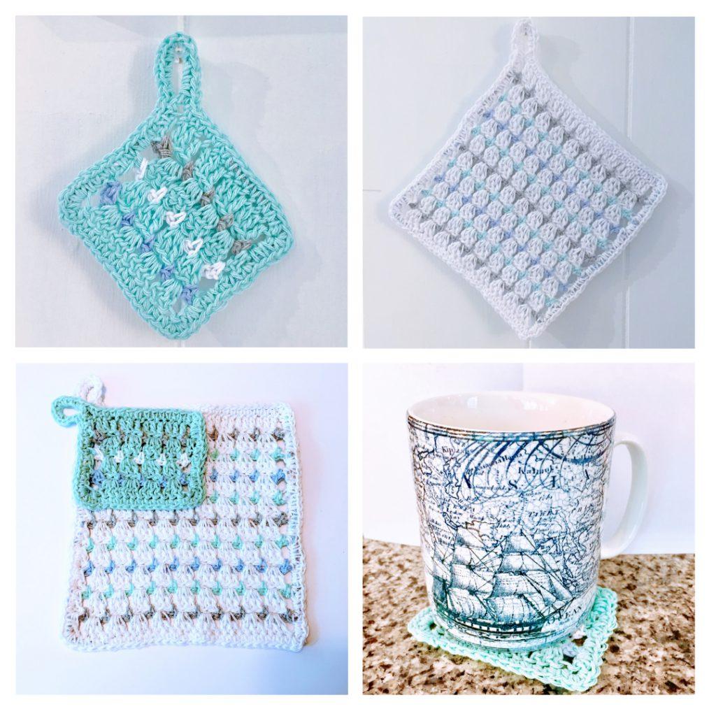 crochet Hotpad Coaster