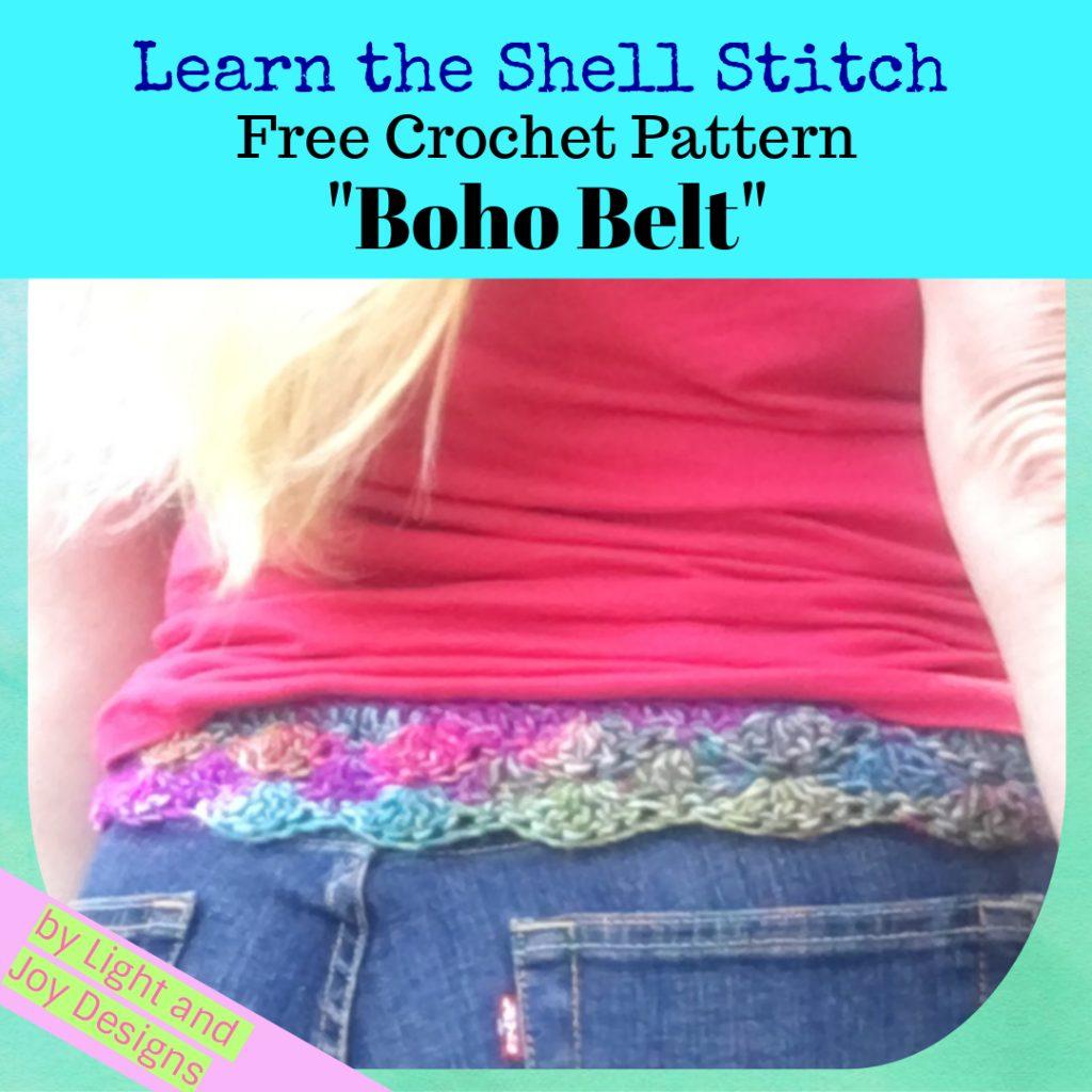 The Crochet Bohemian Boho Belt Free Pattern