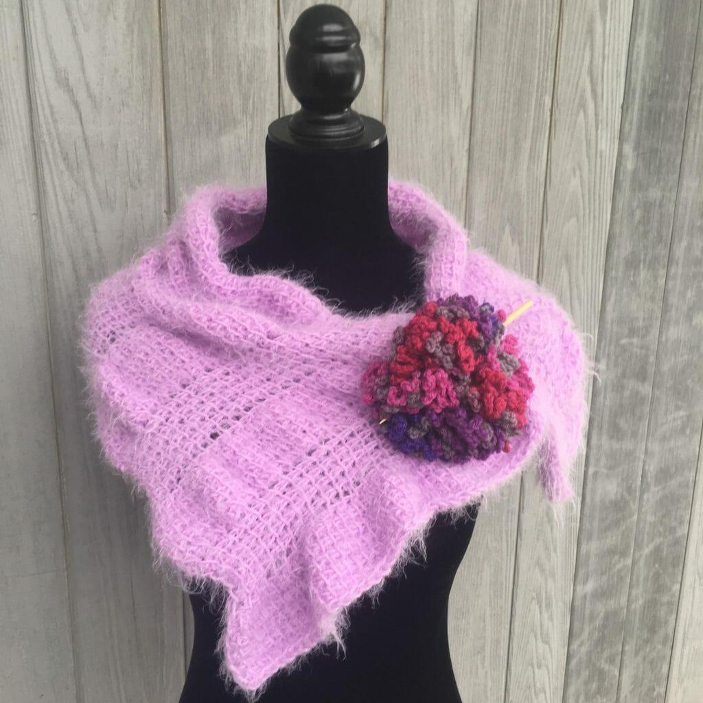oasis crochet scarf