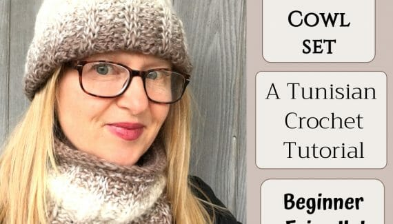 Scarfie Hat & Cowl Crochet Pattern