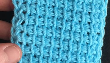 Free Tunisian Pattern - Learn Tunisian Simple Stitch