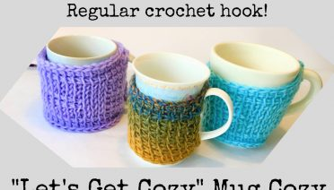 Free Tunisian Crochet Pattern Mug CozyLight and Joy Designs