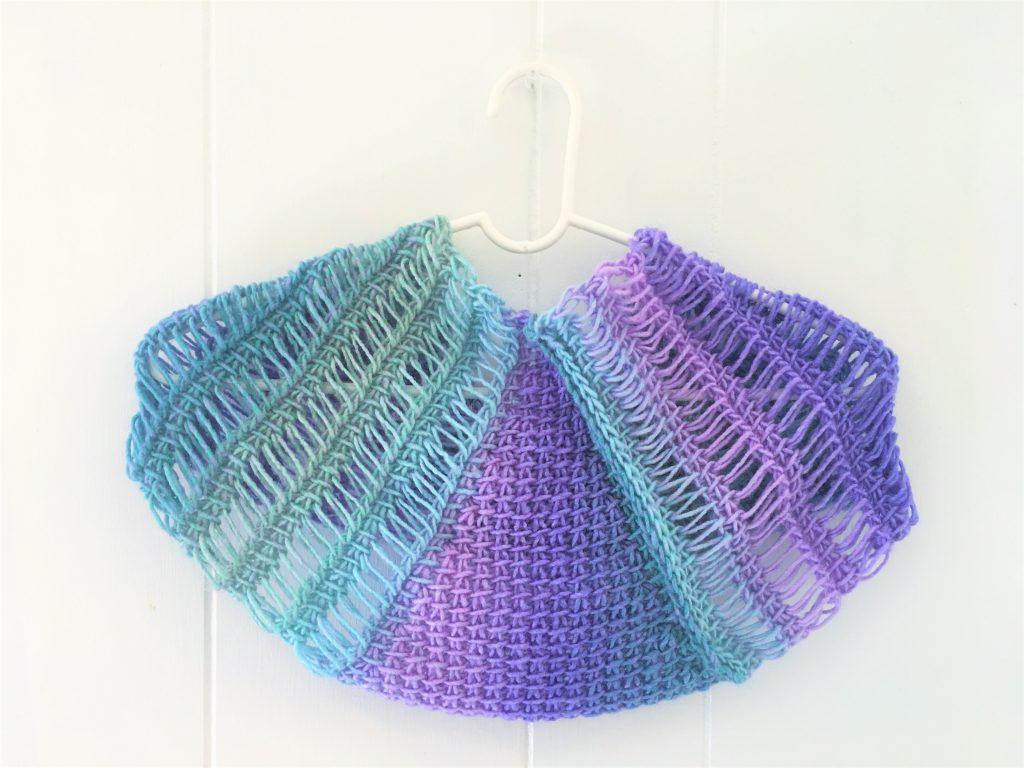 waterfall cowl tunisian crochet pattern