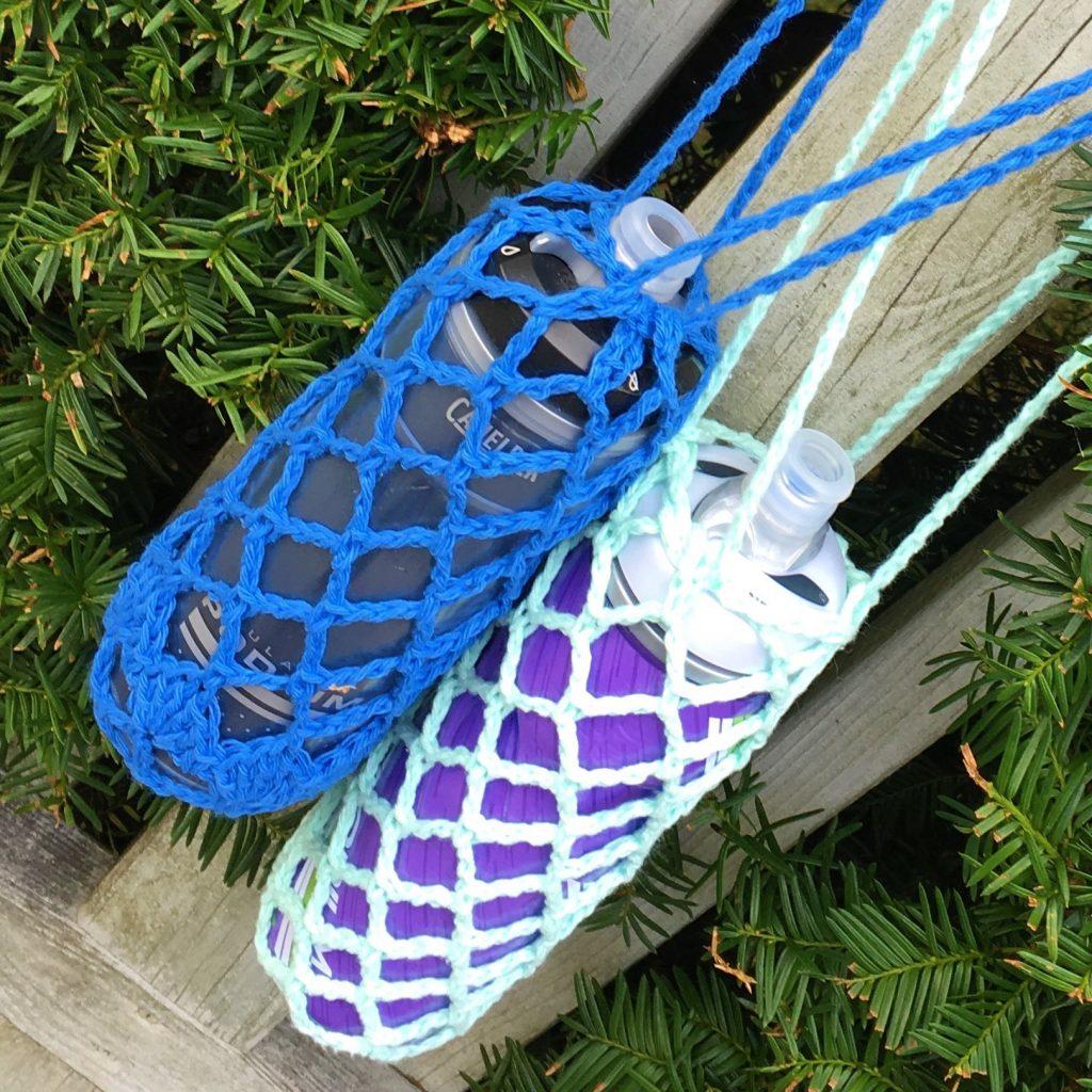 crochet bottle holder pattern