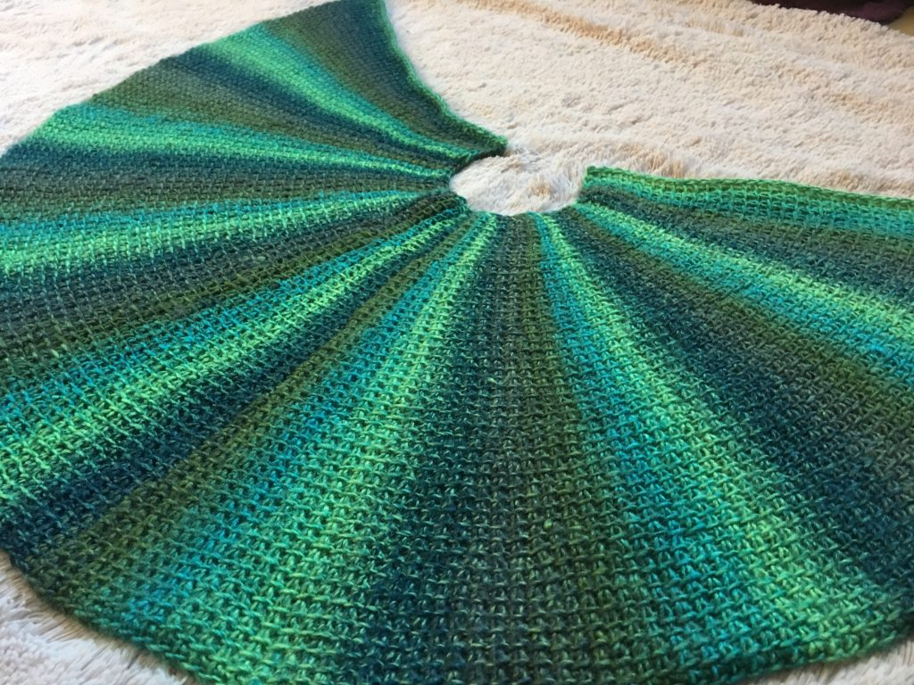 The Radius Shawl - A Free Tunisian Crochet Pattern and Tutorial