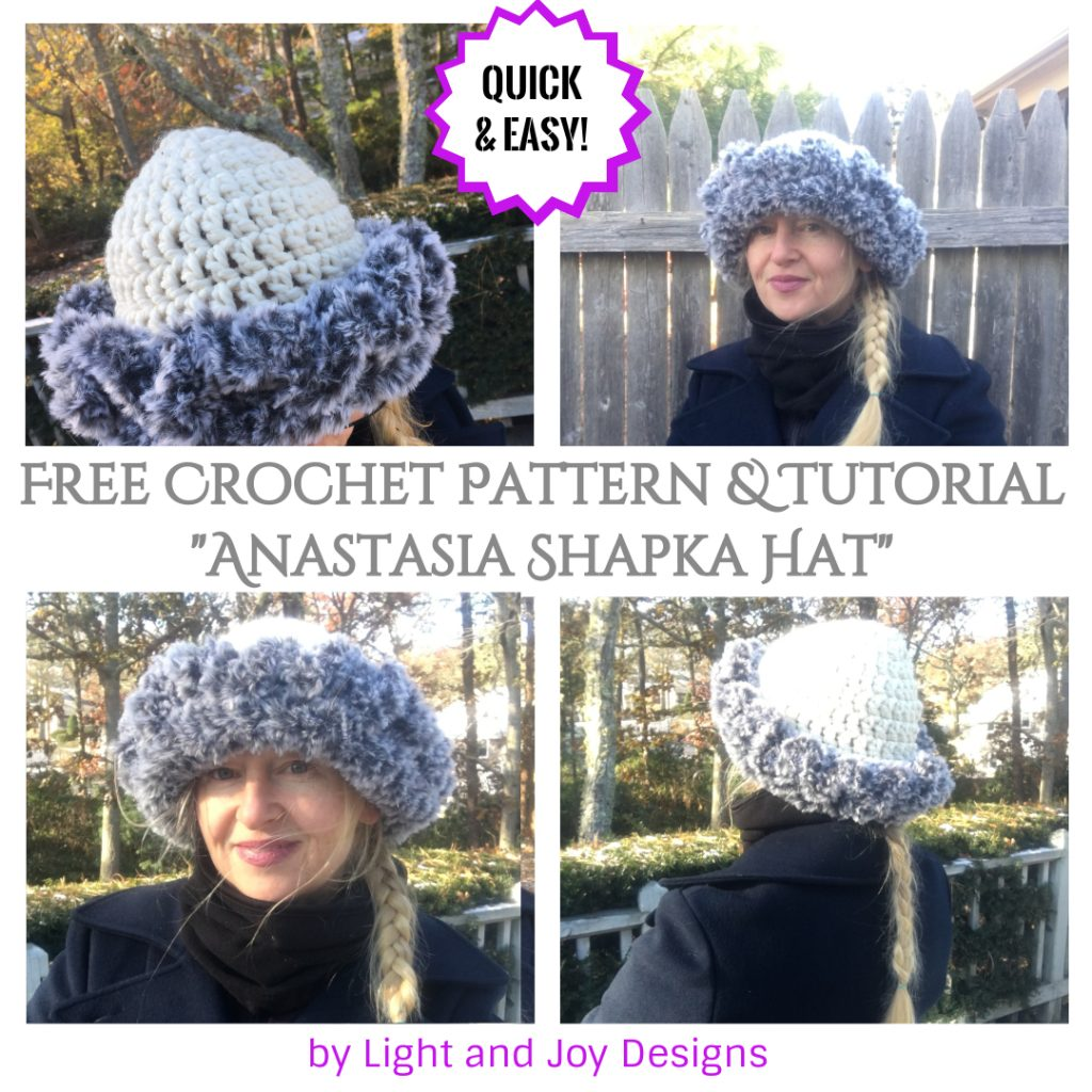 Crochet Russian Fur Shapka Hat