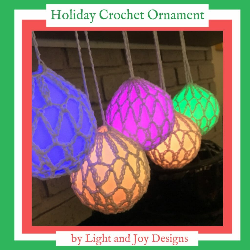 Christmas Crochet Ornament